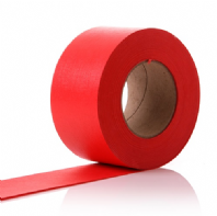 Scarlet Red Paper Display Border Roll 48mm x 50M Fadeless DuraFrieze - 2 Rolls